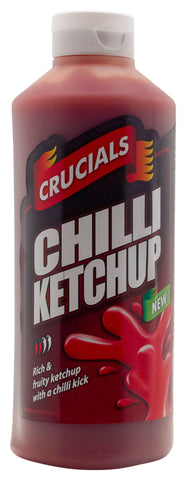 Crucials Chilli Ketchup Squeezy Sauce 500ml