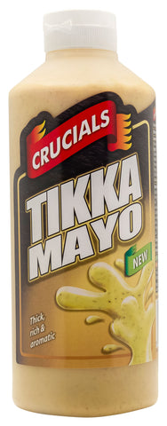 Crucials Tikka Mayo Squeezy Sauce 500ml