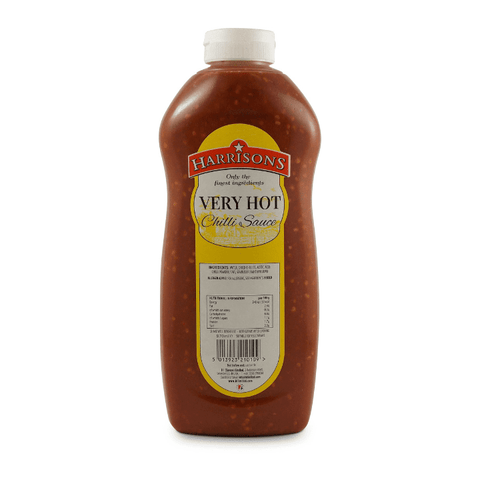 Wholesale Harrisons VERY HOT CHILLI SAUCE 970ml