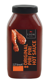 Lion Piri Piri Hot Sauce 2.27 L