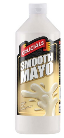 Crucial Smooth Mayo 1ltr