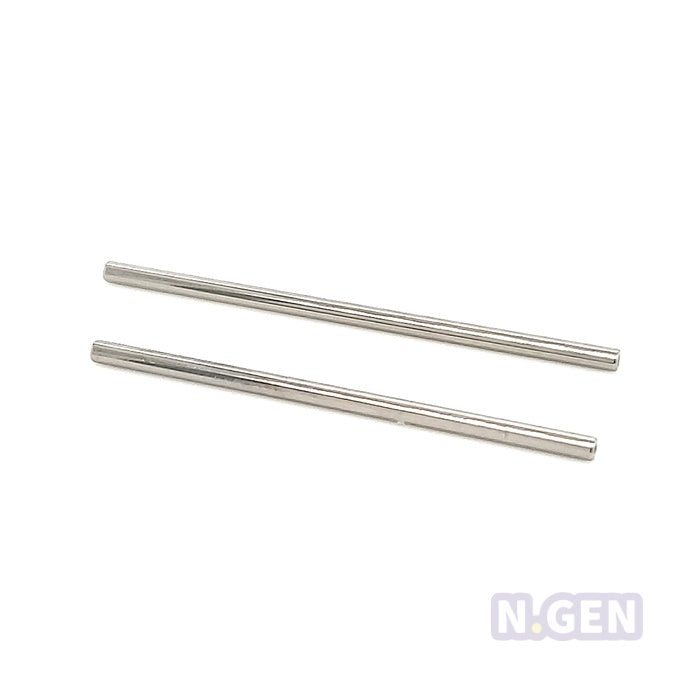 14g(1.6mm) Industrial Threadless Push In Barbell Shaft-F136 Eli Titanium