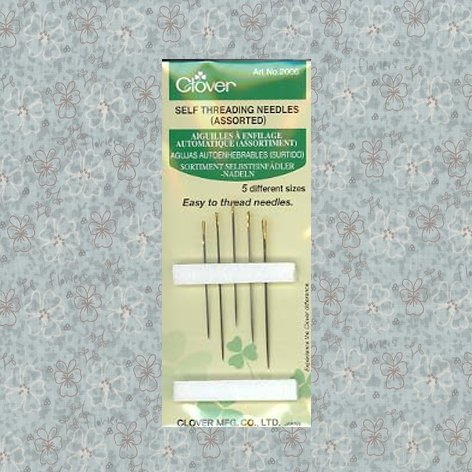Clover Self Threading Needles (Assorted)