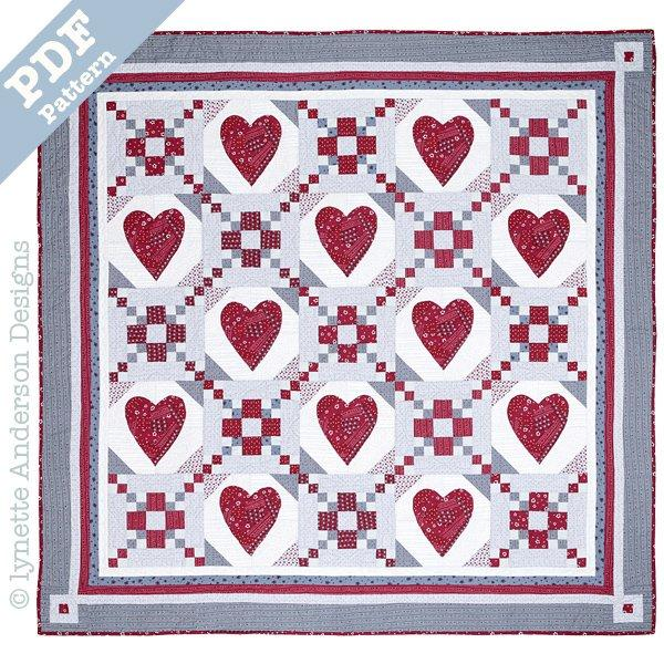 Change of Heart Quilt - Downloadable Pattern