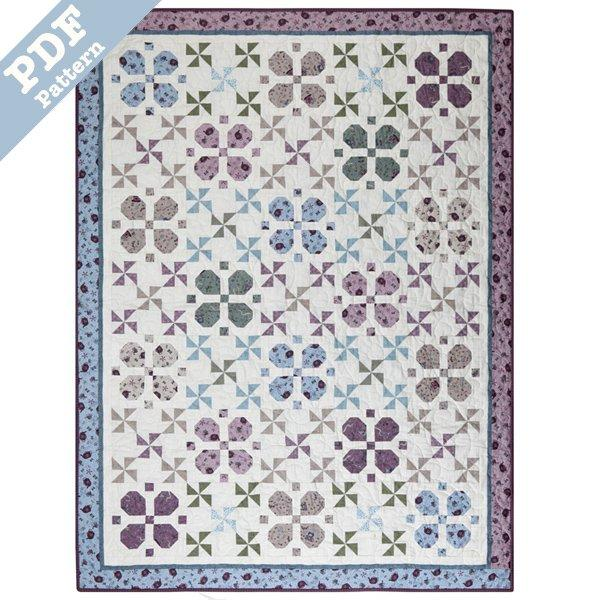 Lucky Clover Quilt - Downloadable