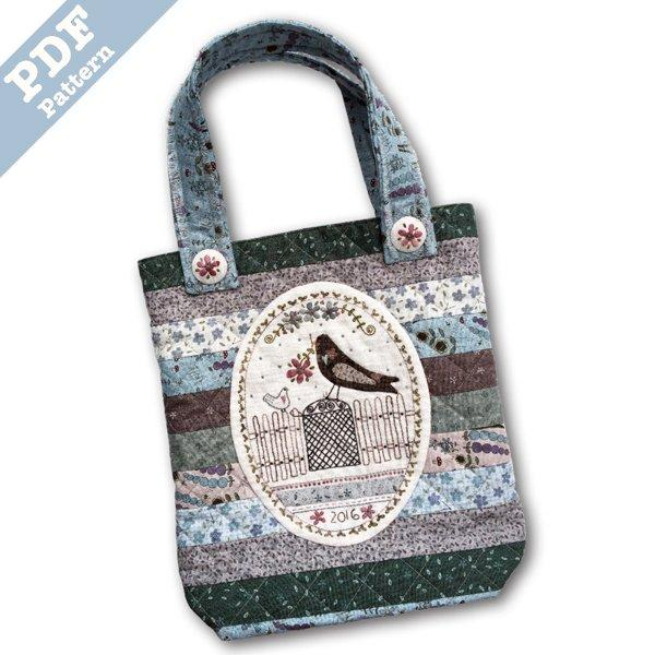 Garden Gate Tote - Downloadable Pattern