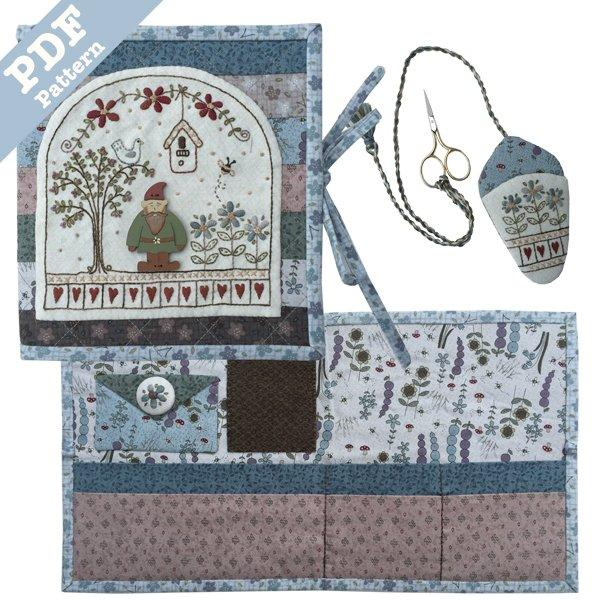 Garden Gnome Needle Book - Downloadable Pattern