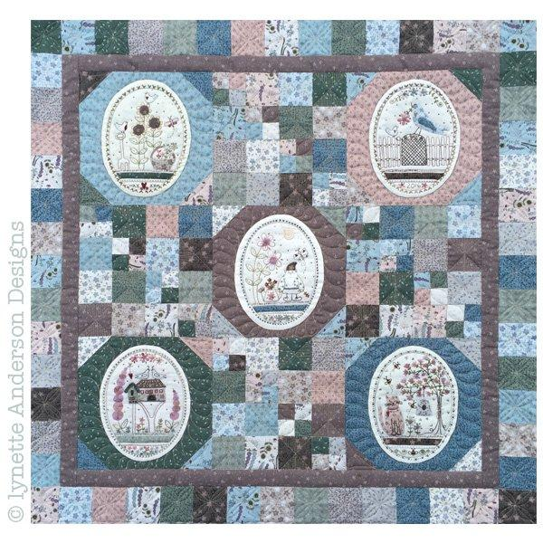 Green Thumb Mini Quilt - Pattern Set