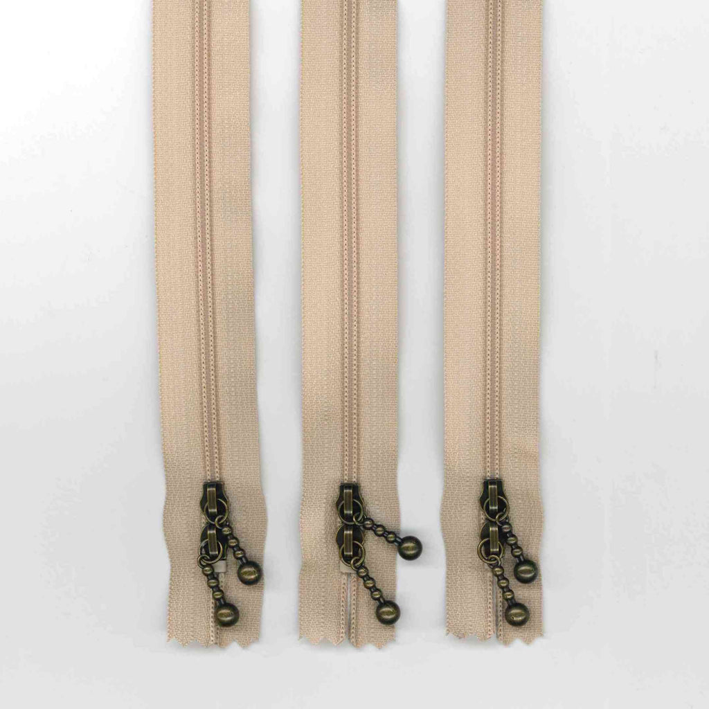 Zipper Pack - 40cm Beige Double Ended