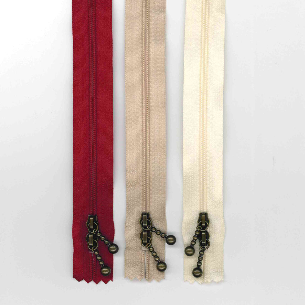 Zipper Pack - 40cm Mixed Double Ended -Antique Gold