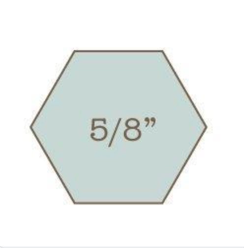 "5/8"" Hexagon Papers Bulk (1400)"