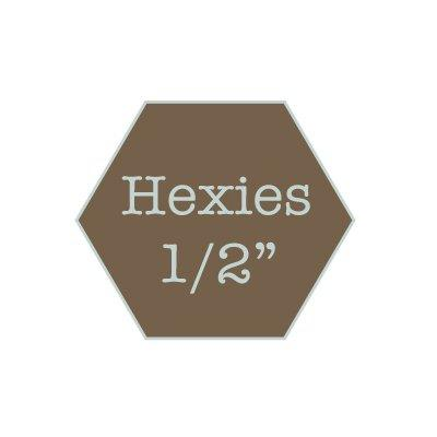 "Hexies 1/2"" water soluble"