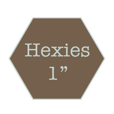 "Hexies 1"" water soluble"