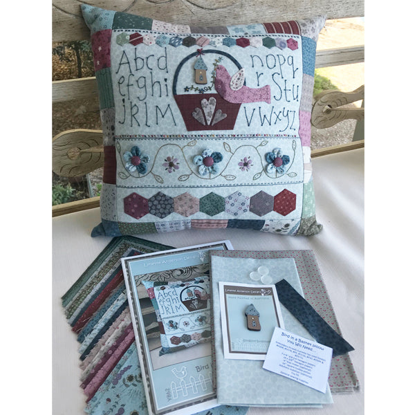 Bird in a Basket Pillow kit - SGOM version