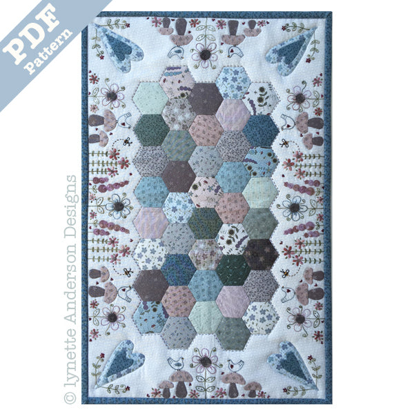 Forest Floor Tablerunner - downloadable pattern