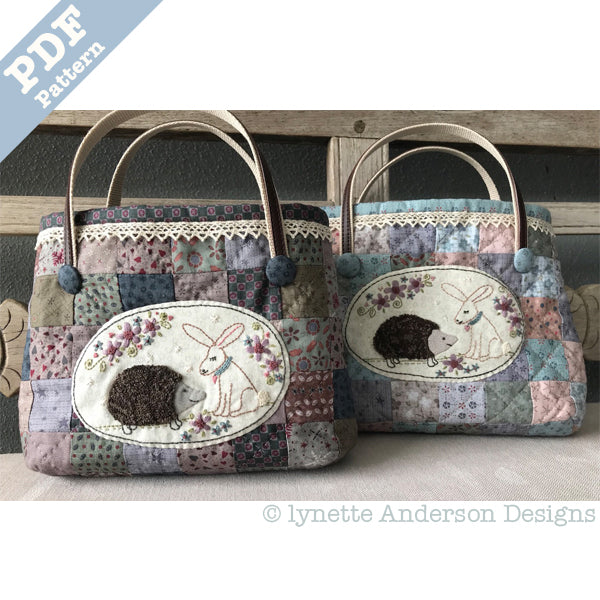 Howard and Lily Bag - Downloadable pattern