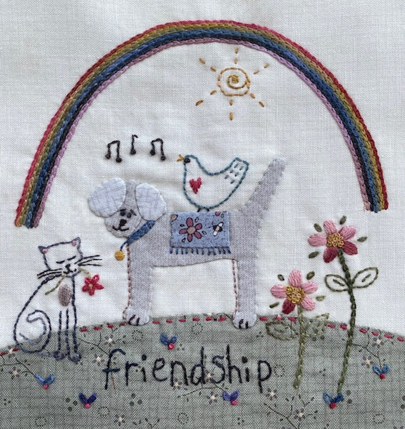 Rainbow of Hope - free download pattern