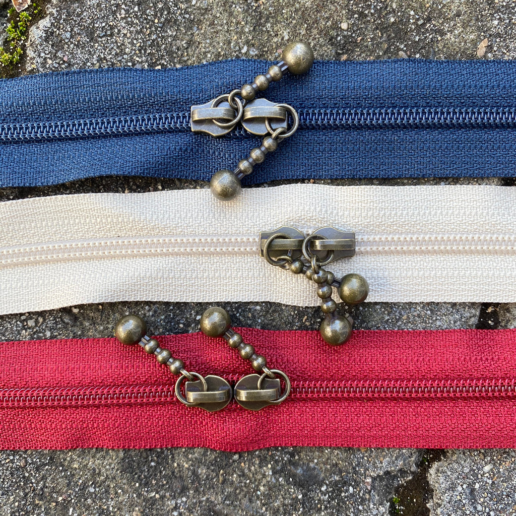 40cm Mixed Double Ended Zipper Pack