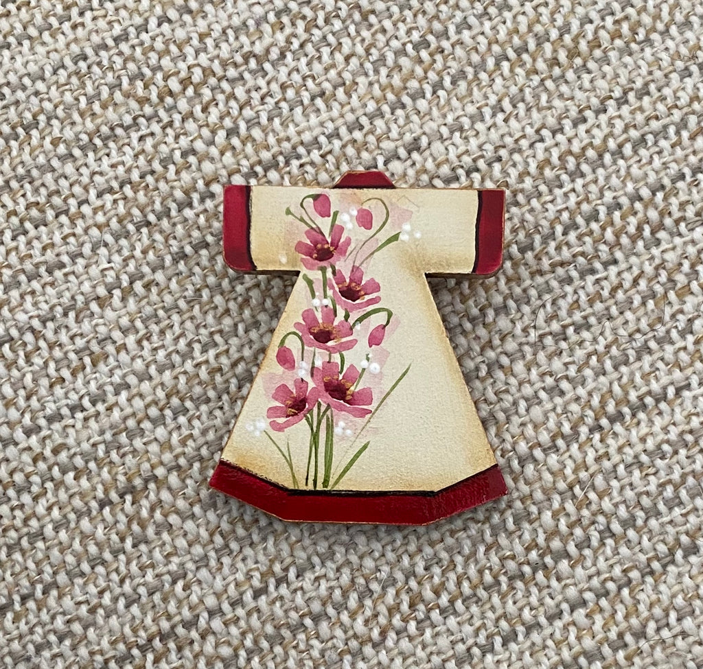 Brooch - Hand Painted #18