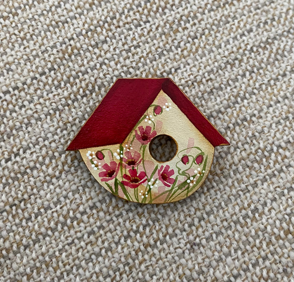 Brooch - Hand Painted #20