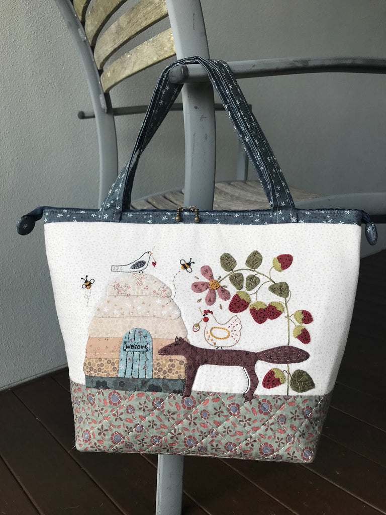Strawberry Fox Bag - pattern