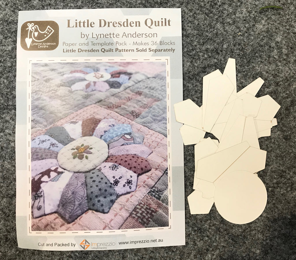 Little Dresden Paper and Template pack
