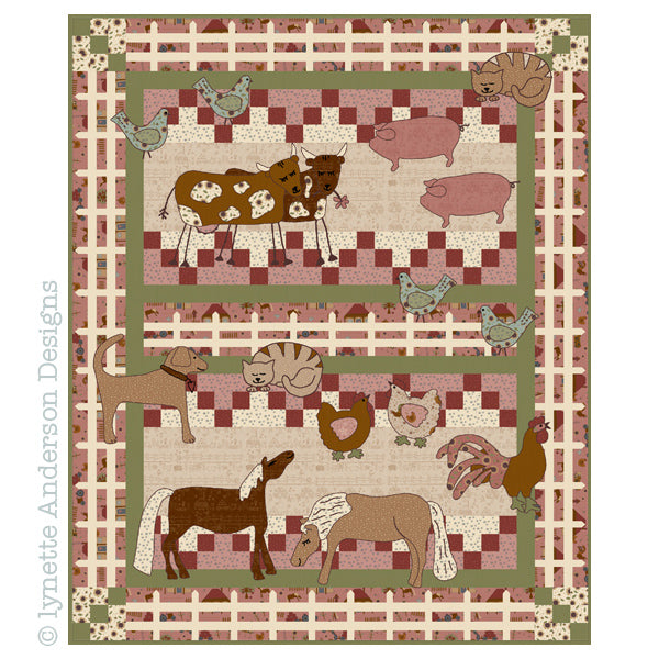 Farmyard Fun Quilt - pattern