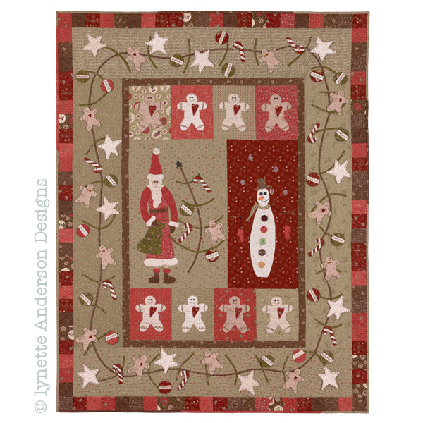 Santa's Blessings - pattern