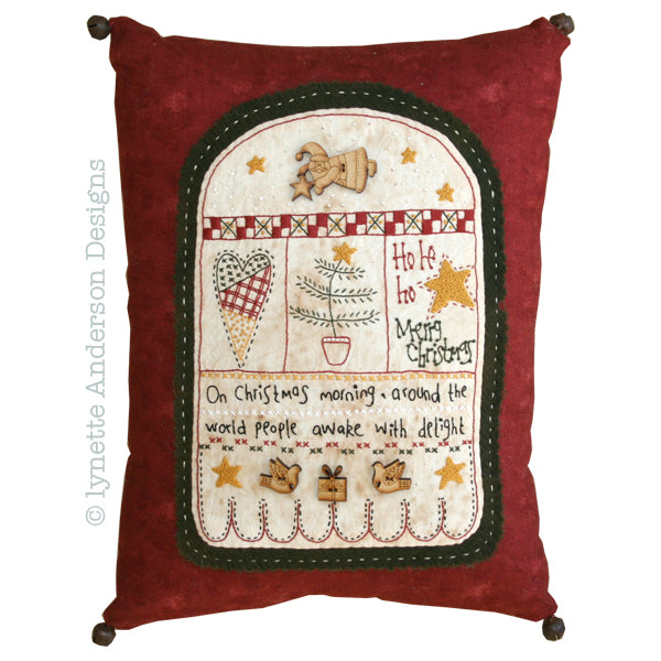 Christmas Morning Pillow - pattern