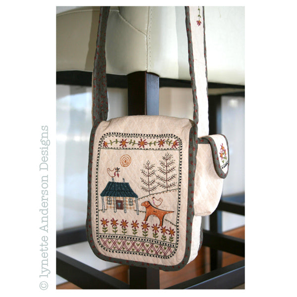 Daisy Cottage Bag - pattern