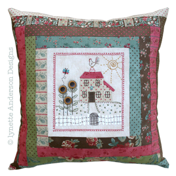 Nora's Garden Pillow - pattern