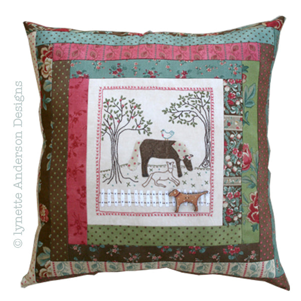 Nora's Horses Pillow - pattern