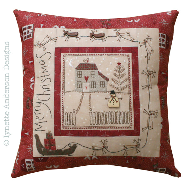 Christmas Eve Pillow - pattern