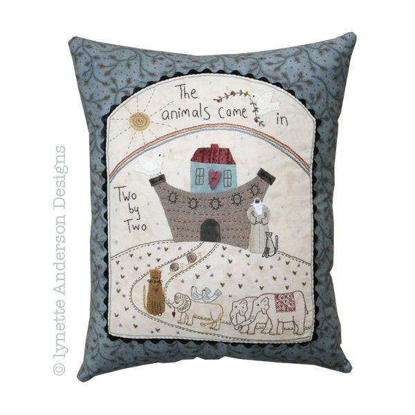 Noah's Ark Pillow - pattern