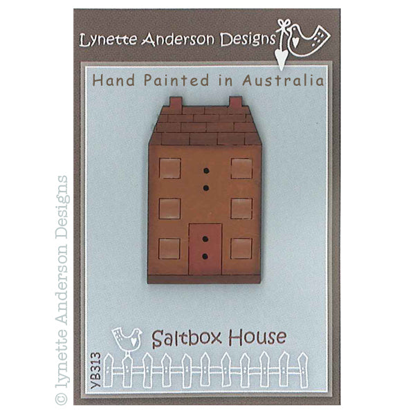 Saltbox House Button