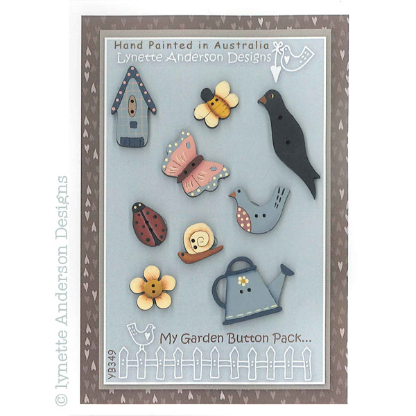 Garden Scenes - My Garden Button Pack