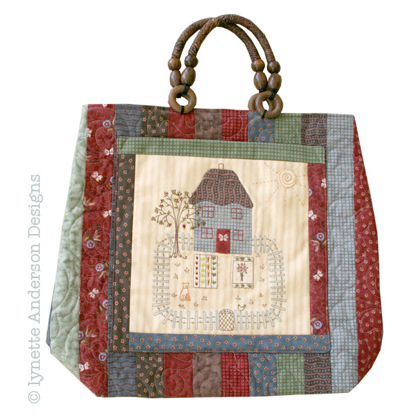 Butterfly Cottage Bag - pattern