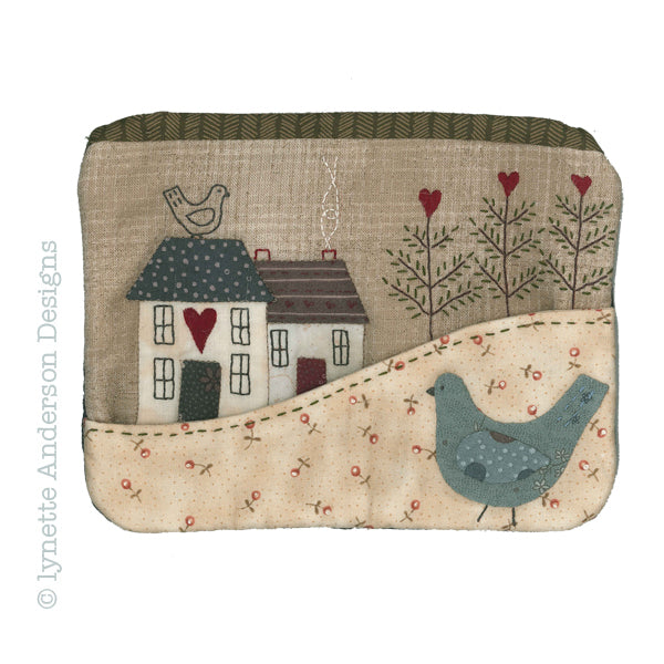 Country Cottage Purse - pattern