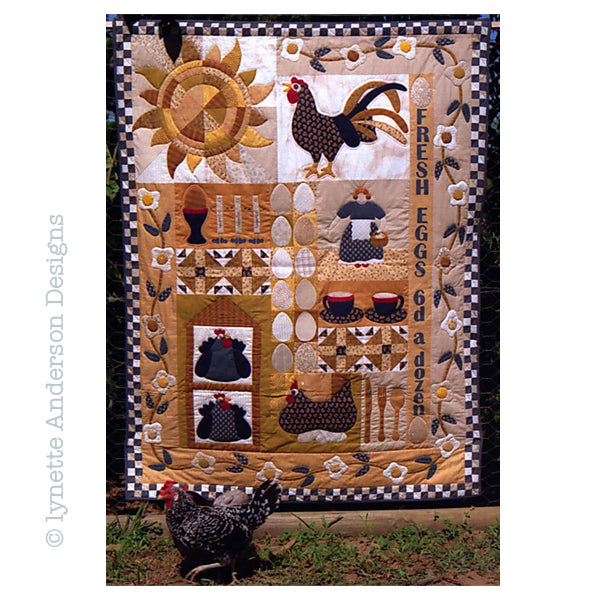 Eggs for Breakfast Quilt - pattern