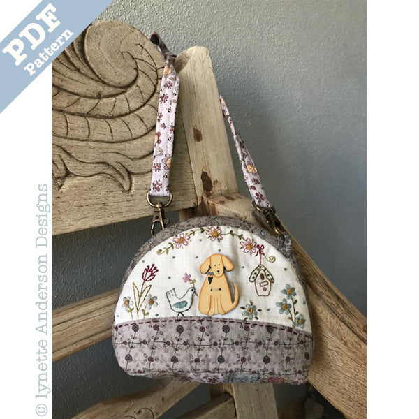Little Garden Purse  - Downloadable pattern