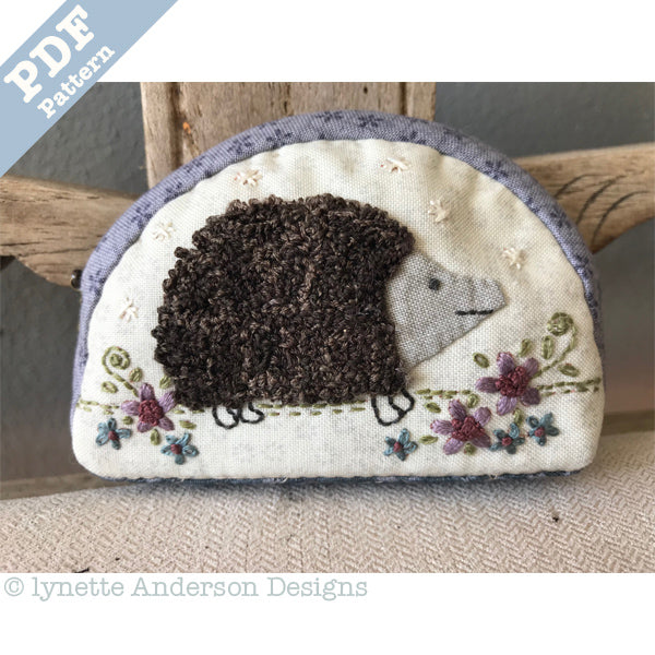 Little Hedgehog Purse - Downloadable pattern