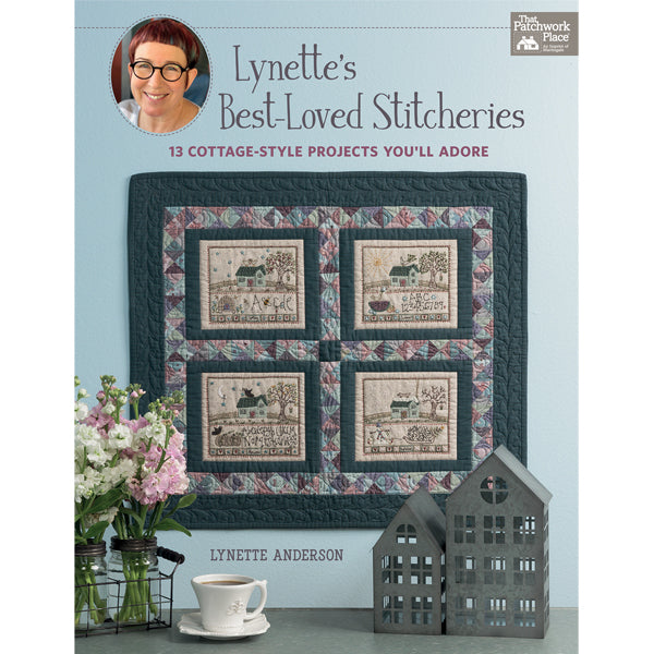 Lynette's Best-Loved Stitcheries Book - PRE-ORDER