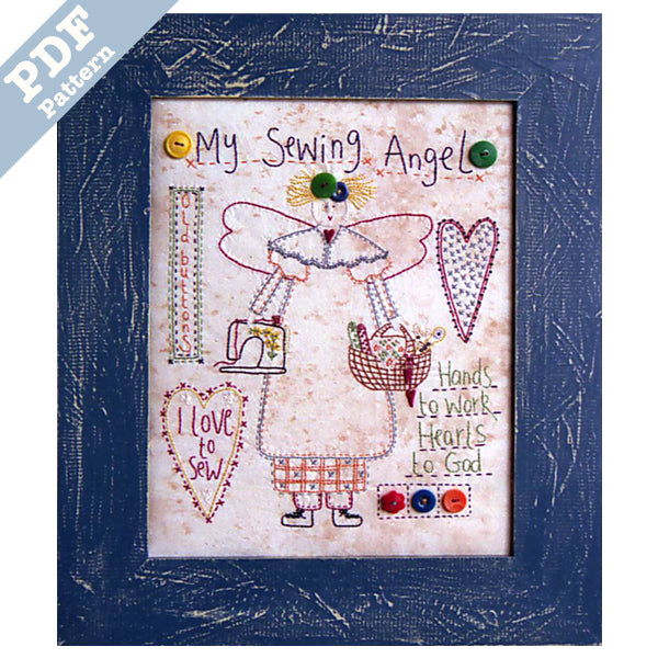 My Sewing Angel - Downloadable Pattern