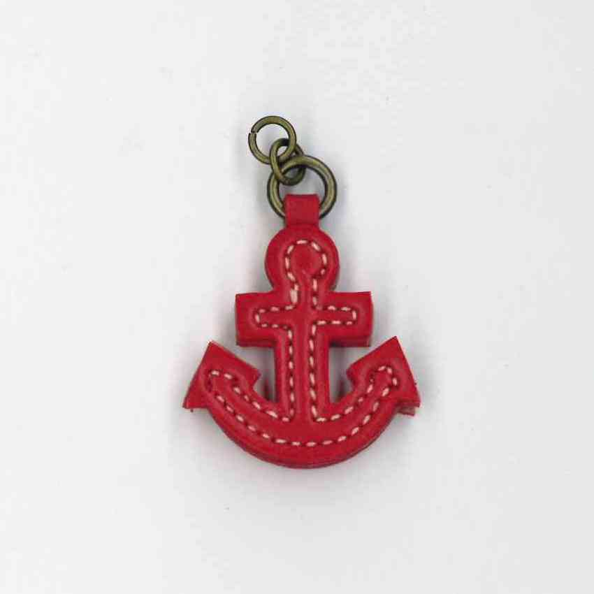 Zip Pull Red Anchor
