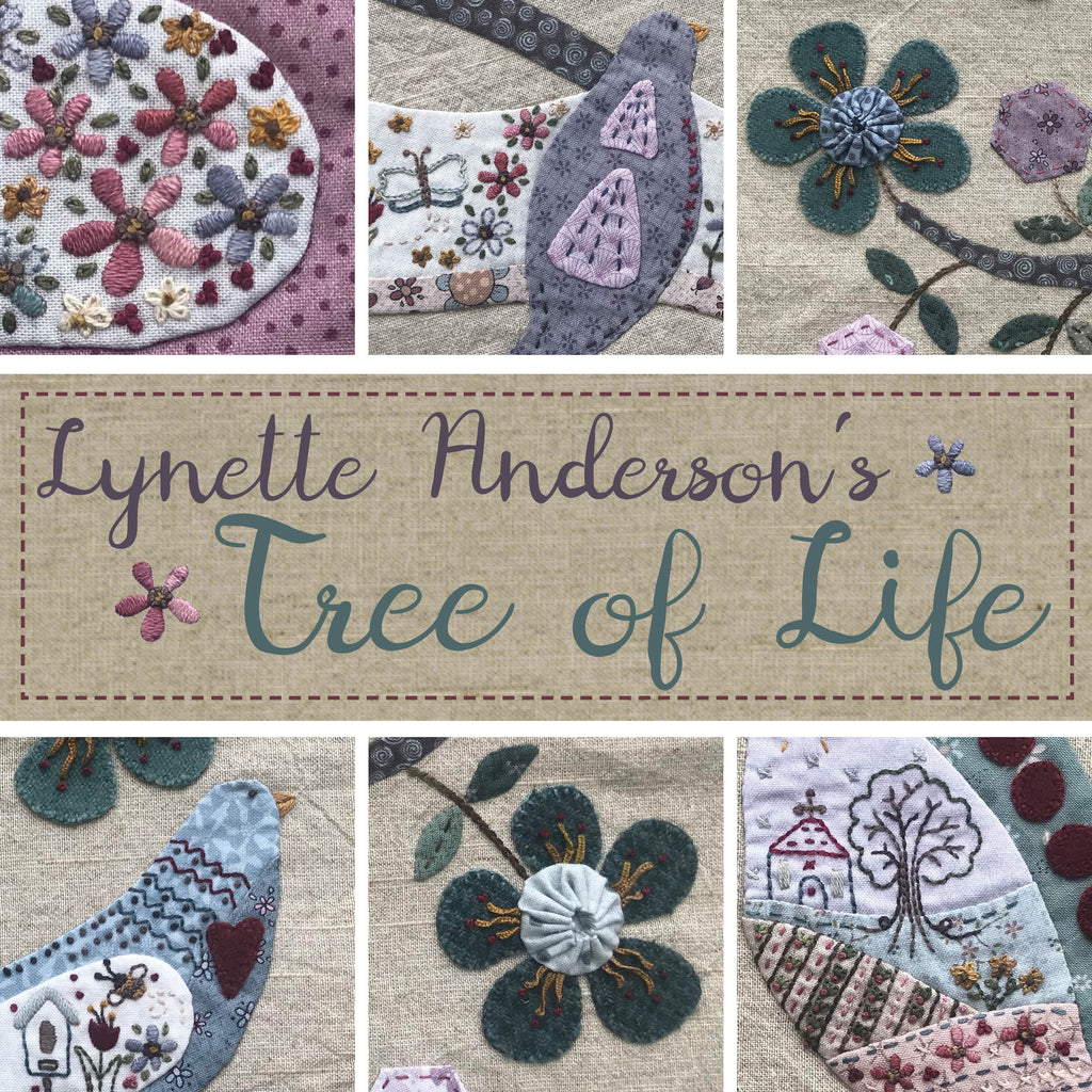 Tree of Life - Pattern Set with handpainted buttons