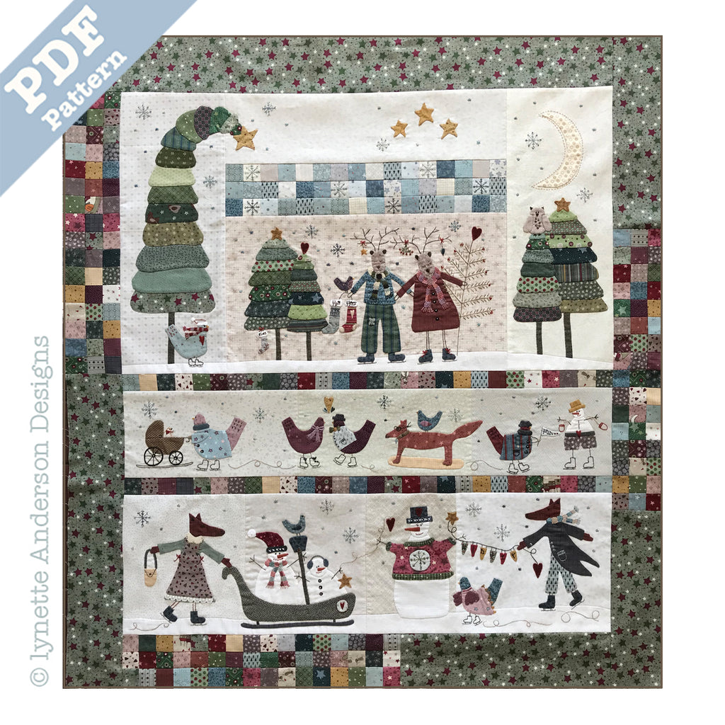 Winter Playground PDF Pattern