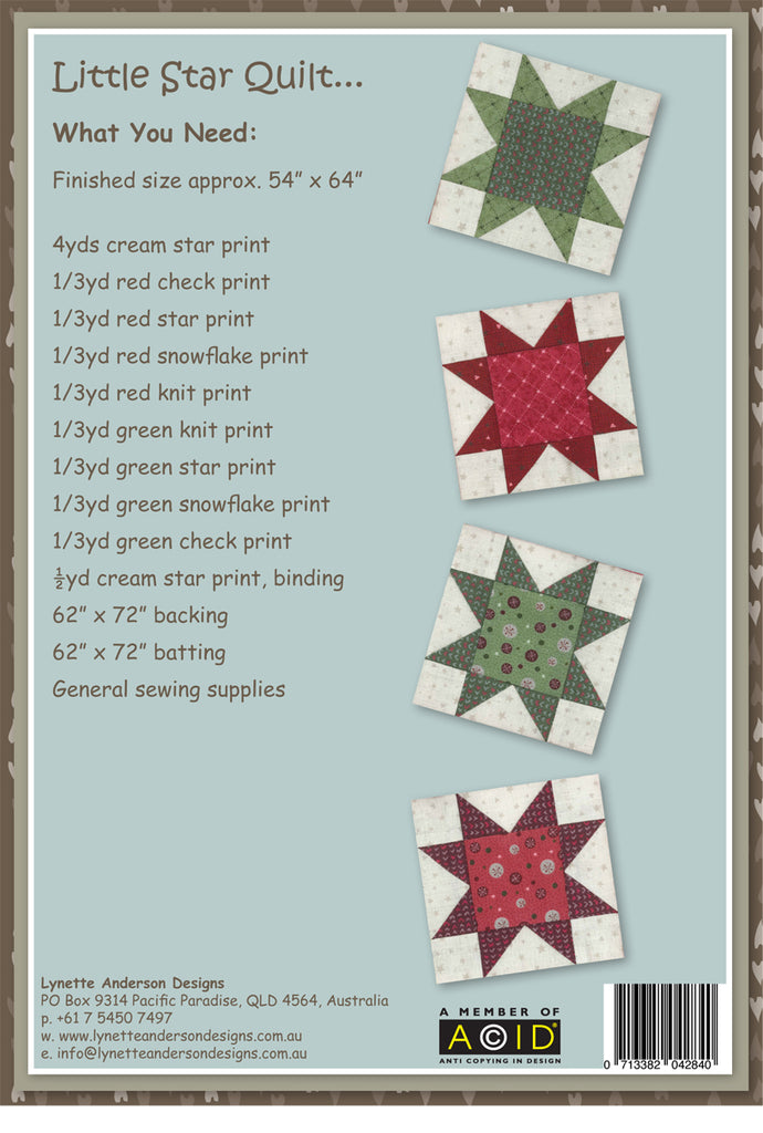 Little Stars Quilt - Downloadable