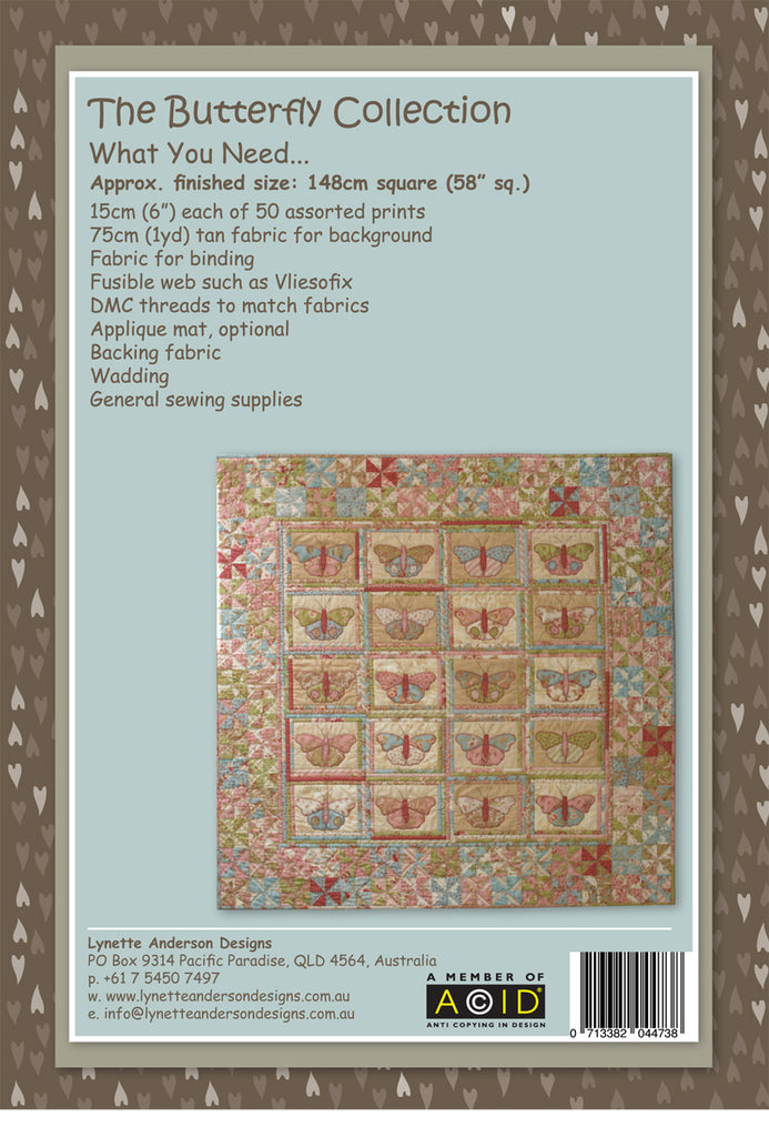 The Butterfly Collection - pattern