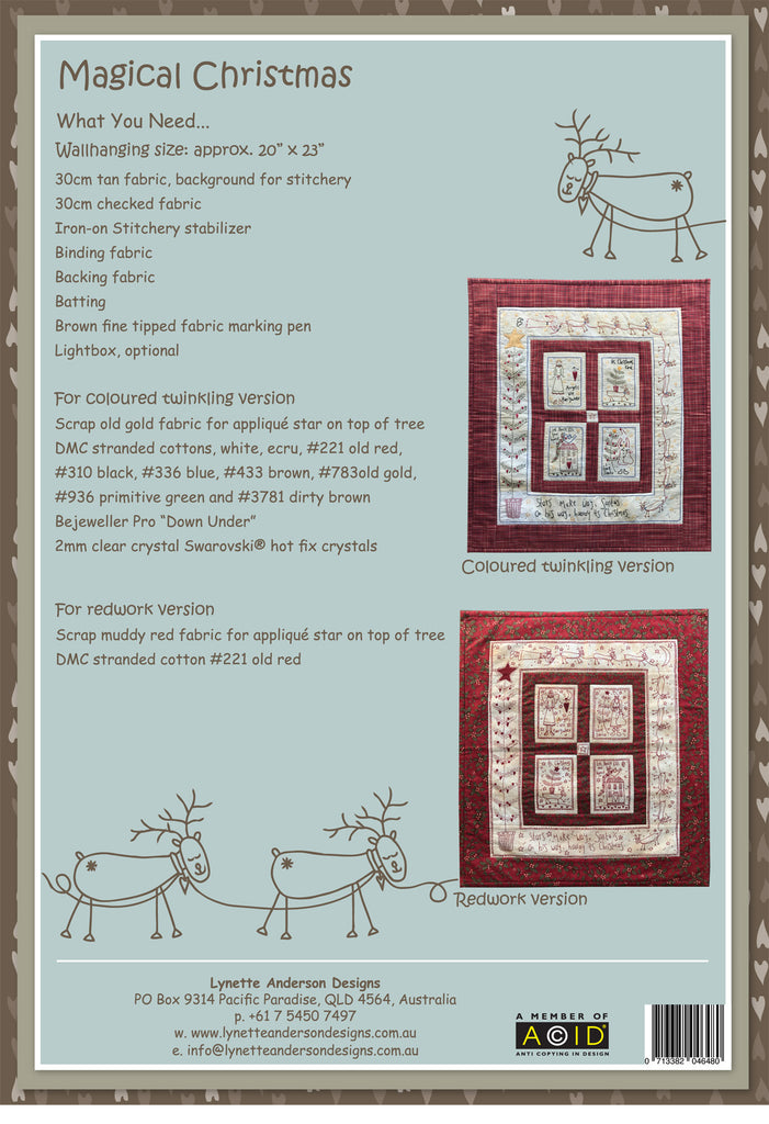 Magical Christmas - Downloadable Pattern