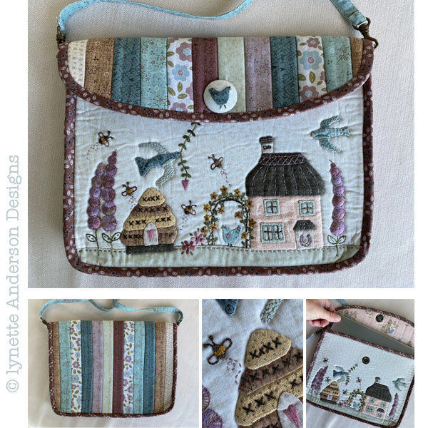 Horseshoe Cottage Tablet Bag Pattern